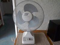 """Micromark 12"""" Desk fan"""