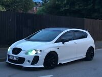 2008 SEAT LEON 1.6 BTCC K1 + SCIROCCO ALLOYS + FR STEERING WHEEL +