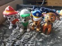Paw patrol soft teddys
