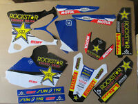 New 2016 YZ 85 02-14 FLU Team Rockstar Graphics Sticker Kit Motocross