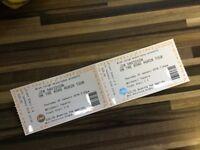 Two Jim Davidson tour tickets 25th Jan Whitehall theatre Dundee seats C5 & C6