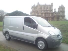 VAUXHALL VIVARO 2700, 1.9DCi, 2004 54-REG with FVSH and 12 MONTHS MOT...!!!