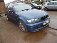not breaking no spare or repair no damaged bmw 325i sport full M/sport automatic gearbox wheels nice