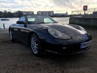 PORSCHE BOXTER 2.7 CONVERTIBLE 967 (03 PLATE) JUST SERVICED BY PORSCHE, NEW MOT, HAS GRAZE ON BUMPER