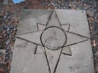 Paving Patio Feature Star Design Sets Coventry 2 Available
