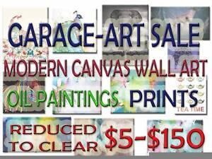 Garage Sale - Art Sale Kingston Logan Area Preview