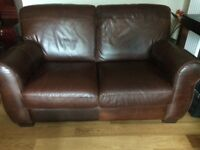 2Brown Cotempo real leather suites