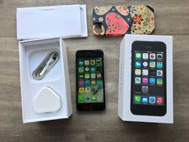 Apple iPhone 5s - 32GB - Space Grey (Unlocked) Smartphone