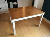 Extendable solid wood table for sale - reduced price