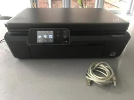 HP Photosmart 5524 3-in-1 colour printer/scanner/copier with brand-new high-capacity ink cartridges