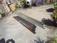 Daiwa 12.5m fishing pole + 5 top kits