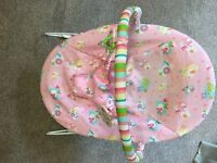 Baby bouncing chair £5