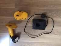 Dewalt torch,charger and battery
