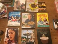 Selection of cooking books