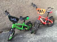 Kids bikes £30 each or £50 for pair general good condition age 4-6 and 3-4