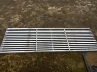 New cattle grid 12ft5in x 4ft galvanised plus frame