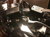 Hayabusa bandit GSXR master cylinders polished lids excellent working order