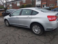59 CITROEN C5 1.6 HDI 110BHP VTR+ SALOON FOR SALE OR SWAP WITH AUTOMATIC