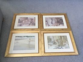 Framed Russel Flint prints