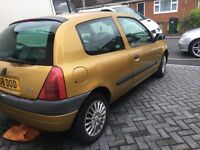 Clio cheap car