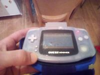 Nintendo game boy advance handheld console