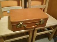 Vintage Antler suitcase with keys