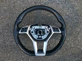 Mercedes c class AMG steering wheel