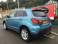 2011 61 Mitsubishi ASX 3 Clear Tec 1.6 Petrol 5 Speed Manual 117 BHP
