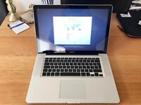"Apple MacBook Pro 15"", 16GB RAM, 512GB SSD, 2.3 GHz Intel Core i7, NVIDIA GeForce GT 650M"