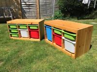 Children's toy chests