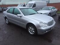 MERCEDES C200K AUTO 2002 MODEL 1 OWNER FROM N