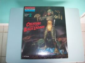Creature from the black lagoon model kit - Monogram 1994 Still sealed