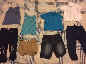 Bundle of 1-2 years boys clothes