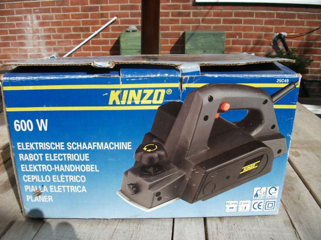 kinzo electric wood planer 600 watts. | in norwich, norfolk | gumtree