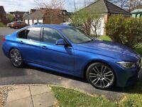 BMW 320d m sport 2013, xynons, pro Nav, Top Spec.
