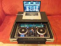 Numark N4 4-Channel DJ Controller With Mixer & Flightcase