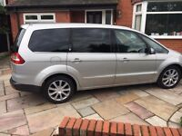 Ford Galaxy in Silver with fitted towbar