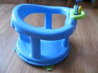 Baby bath chair swivel seat