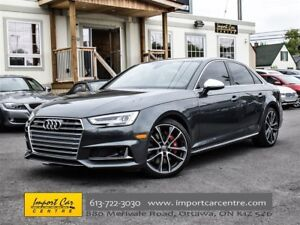 2018 Audi S4 Technik WOW!!  SPORT DIFF, ADVANCED DRIVERS PKG