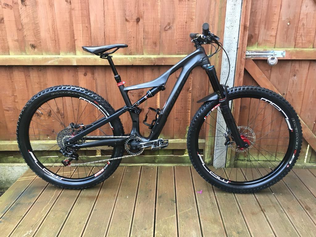7a8f44df08c 2017 Specialized Stumpjumper Carbon Expert Mountain Bike | in ...