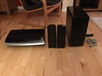 Samsung HT-X200R - Designer Home Cinema System Gloss Black 2 speakers and sub woofer
