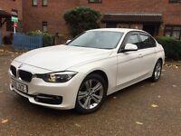 BMW 316d SPORT – AUTO – 76K – 1 PRE OWNWER – KEYLESS START - WHITE PEARL – FBMWH - 320d M Sport 318d