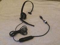 Plantronics Audio 615M USB Single Ear Headset