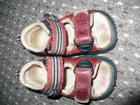Baby boy first sandals size 19 (UK 3.5) infant with extra support for heels. Very good condition.