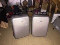 Pair of Samsonite Solid Suitcases