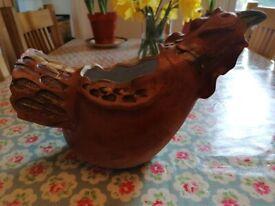 Hen/chicken plant pot