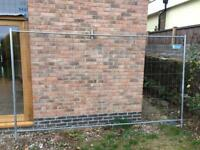 Heras security Fencing temporary Fencing inc clips and feet
