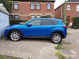 LOW MILEAGE TOP OF THE RANGE MAZDA CX-5 2WD Sport Nav. TOP OF THE RANGE ONLY 2 OWNERS.