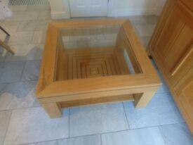 M&S Oak Coffee table