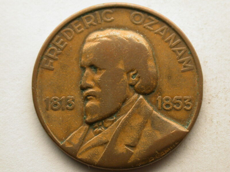 1853 Frederic Ozanam Commemorative
